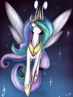 Celestia - Princess of the breezies! by Dragk
