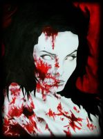 Zombie Angelina Jolie by SarahEleanor