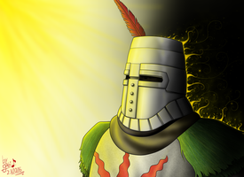 Solaire by Waffle-the-kitten