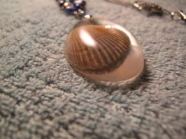 Sea shell necklace detail 2 by Fallonkyra