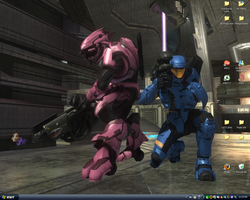Desktop-Halo 3-Forge w my Bro by xXTheMuffinKingXx
