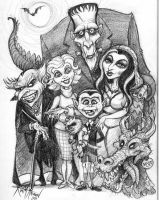 The Munsters by KurtMAndersen