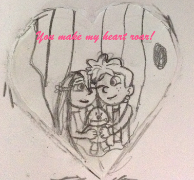 PoN: Valentine's Day Cards: Mina x Kenny by YarasWorld