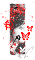 Black and Red ID by Alquimia