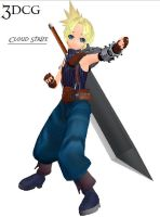 MMD -Cloud Strife -DOWNLOAD by MMDFakewings18