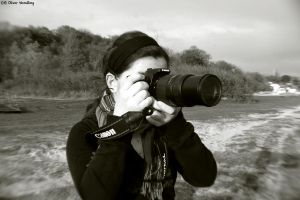 Maria the Photographer by Ollidoro
