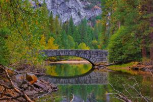 Autumn Lights in Yosemite  19 Over the River by Mac-Wiz