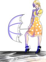 Morton Salt Girl by AlreadyOverWhat