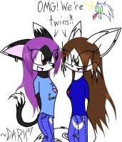 Sonic twins..? by Dark-the-mysterious