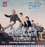 B.A.P Unplugged FONT by Milevip
