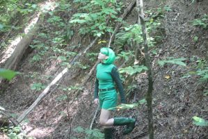 Saria: Exploring the Forest by OcarinaGreen