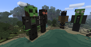 Gassy Statue - Minecraft :D by Trilf