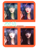 PSD Coloring 4 [2012] #2 (I Miss you). by victoricaDES
