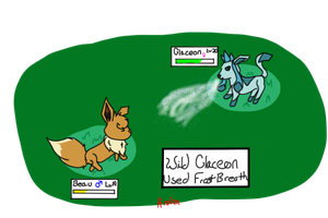CAtch that Glaceon! by Ardra222