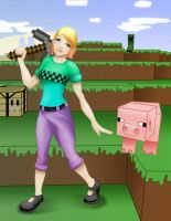 my minecraft character by Deliriouswisdom