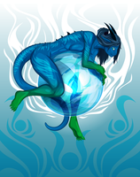 Orb Dragon by Croxot