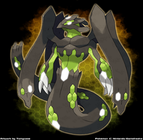Zygarde New Form ? by Tomycase
