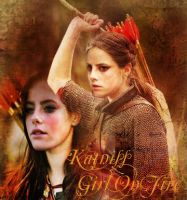 Katniss On Fire by Liliah