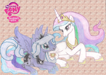 Celestia and Luna by Fluttershy626