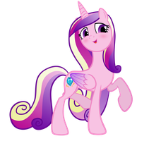 Cadence Vector - Blushies by EkkitaTheFilly