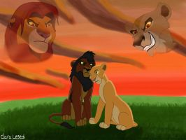 The Lion King 2 by Clara-Lesedi