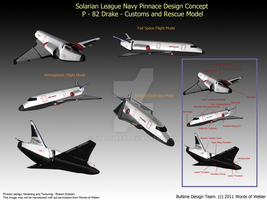 S.L.N Drake Pinnace by starfleet