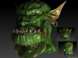 Troll con ZBrush by Chuache by Ryoishen