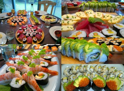 Sushi Madness :D by N1C0L4I