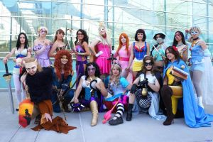 Superhero Disney Princesses 2012 by Winged-warrior