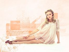 Kristen Bell Wallpaper by Letizia