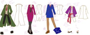 Genderbent Ace Attorney design by sirenlovesyou