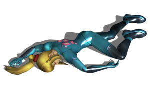 Samus Aran (Super Smash Brothers Brawl) Defeated 3 by FallenParty