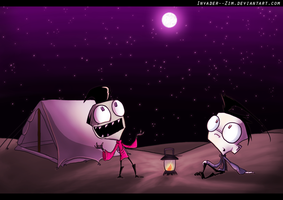 Story Telling by Invader--ZIM