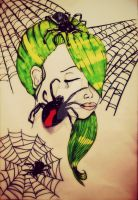 Spider trap by tattoo-love-forever
