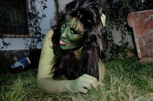 Lizard Woman Body Paint 09 08 by SitaMushroom
