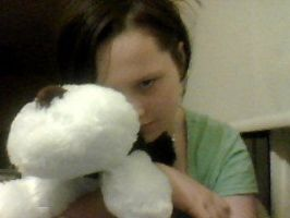 Me and my fav Toy by hetalia-canada101