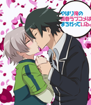 yahari ore no seishun love come wa machigatteiru by Usagi-kit