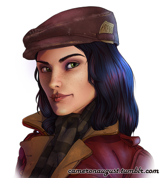 Piper Wright - Fallout 4 by CamBoy