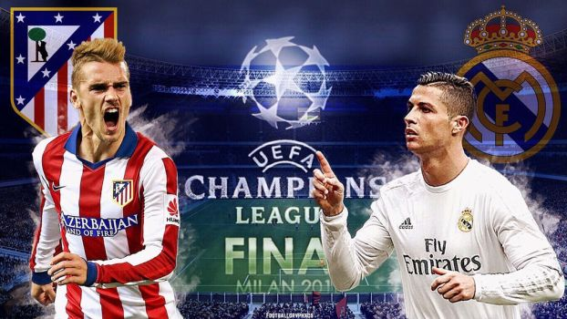 The champions league final by FootballGrvphxcs