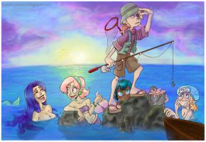Fishing for mermaids by lainchan