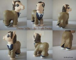 My little Pony Custom Doctor Who 10th Doc by BerryMouse