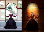 In the castle Before/after by ANN-WHITE