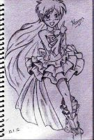 Mermaid Melody Hanon Sketch by NikkiandMay