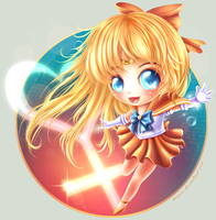 Super Sailor Venus - Chibi by Seiorai