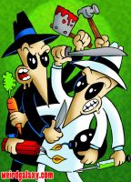 Spy Vs Spy by RossRadiation