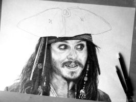 Jack Sparrow WIP4 by Schoerie