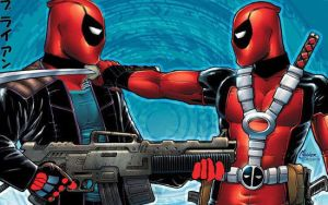 deadpool vs deadpool by deathmaster4690