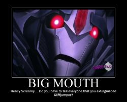 Starscreams Big Mouth by SuiteOrchestra