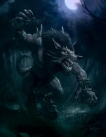 Warpwolf Rage by Anderius