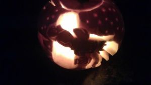 Firefly Pumpkin Carving (other side) by GCSummers